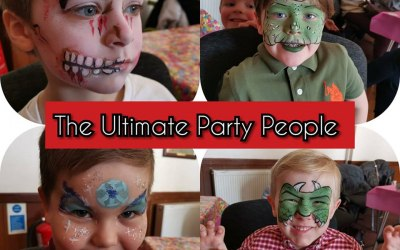 WOW! The boys loved their facepaints!