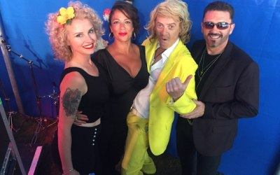 Backing Singing for George Michael Tribute with Keith Lemon Impersonator