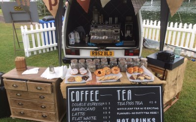 Pop-up coffee and cakes