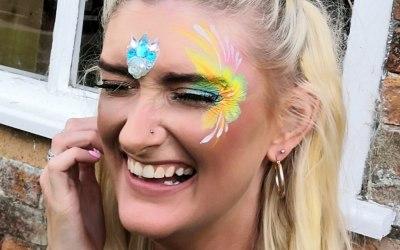 Glamping Glitter & Facepaint!