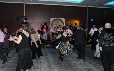 MENSA ceilidh dance at East Midlands Hotel