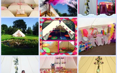 Beautiful Bell Tent Hire
