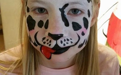 Crazy Faces Face Painting 6