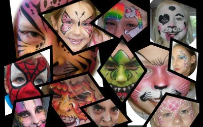 Crazy Faces Face Painting 2
