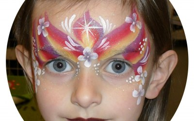 Crazy Faces Face Painting 5