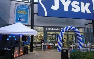 JYSK Store Opening, Derby