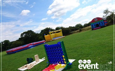 Garden Games and Inflatable Activity Hire