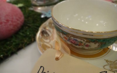 Vintage China Cup and Saucer Hire