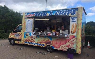 fish chips van