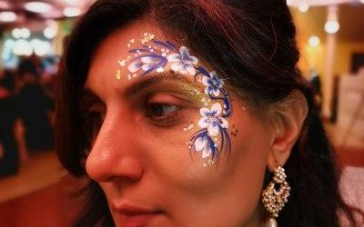 Chameleon Face Painting 6