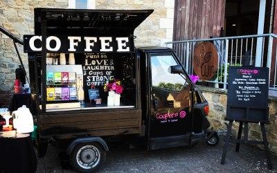 Coffee Van wedding service