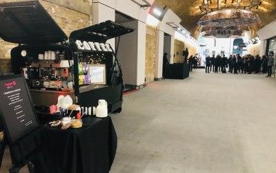London Bridge Event with Coffee Van