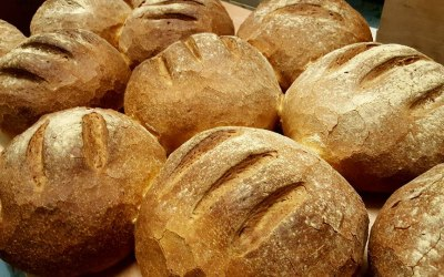 We bake all our own bread.