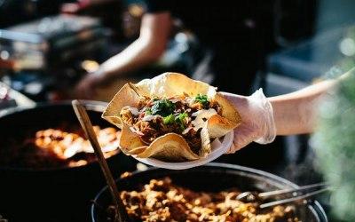 El Kantina Giant Taco