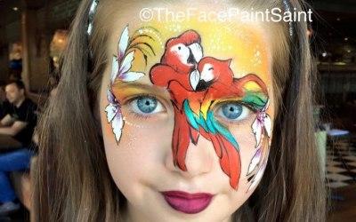 The Face Paint Saint
