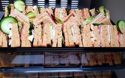 Sliced Bread Sandwiches