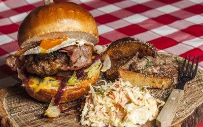 Burgers meat/veggy
