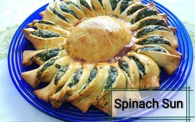Tear and Share Spinach Sun