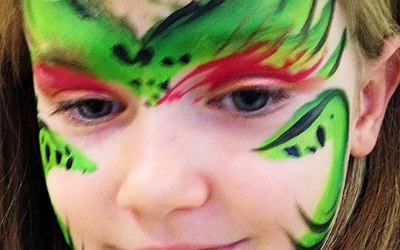 Rainbows Face Painting London