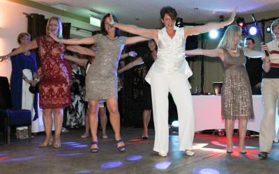 Dancing hen parties