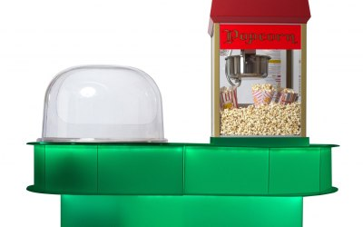 Popcorn & Candyfloss colour stand