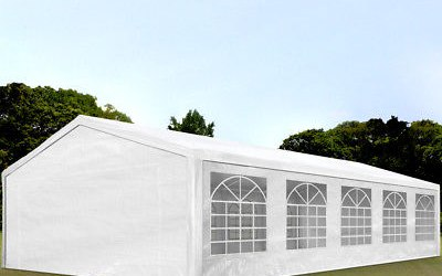 Large all White Marquee Hire 8x6m upto 8x16m