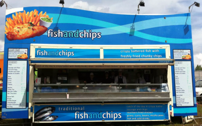 Fish and chip unit