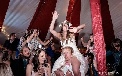Festival Wedding at the Koa Tree Glamping Park