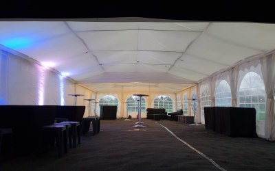 Our 6m by 18m Nightclub Package