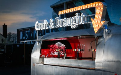 Vintage Airstream Bar