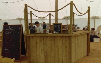 Wooden CIrcle Bar