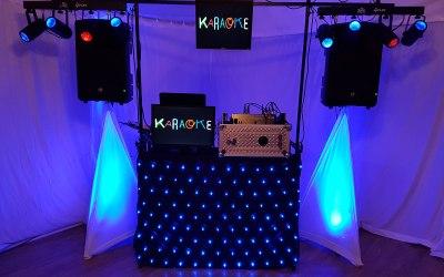 Karaoke set up