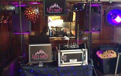 Small Karaoke setup