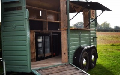 Our beautiful horse box trailer