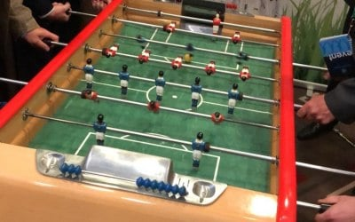 Everyone loves Foosball - especially at your trade-show stall