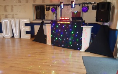 Podiums for all occasions included in set up