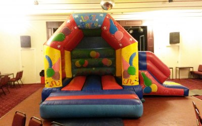 Party Castle with Slide