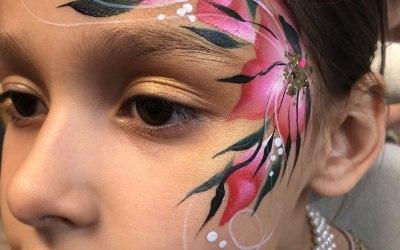 Rosie Posie Face Painting 1