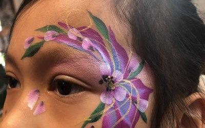 Rosie Posie Face Painting 8