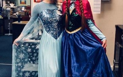 Elsa & Anna from Frozen