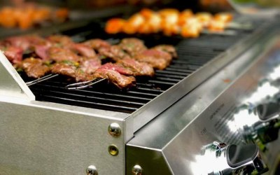 Grill in action.