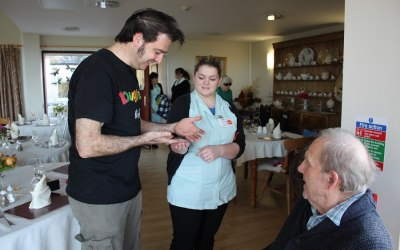 Bugfest care home visits