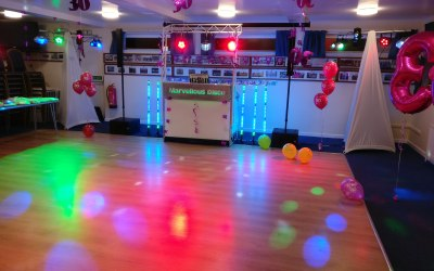 30th Birthday party at Alnwick Rugby Club
