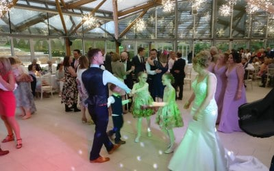 Wedding at The Alnwick Garden