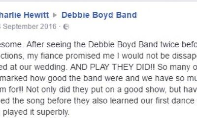 Debbie Boyd Band 9
