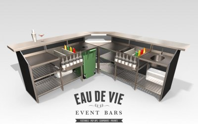 2.5m x 2.5m Events Bar