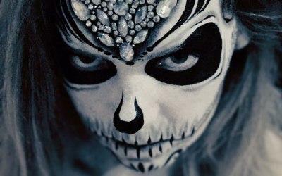 Phoenix Face Painting 5