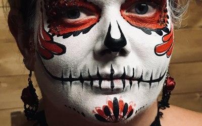 Phoenix Face Painting 7