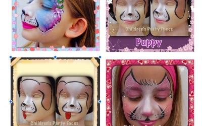 Children's Party Faces 1