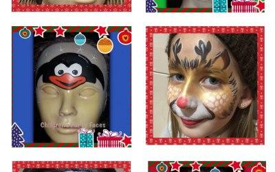 Children's Party Faces 3